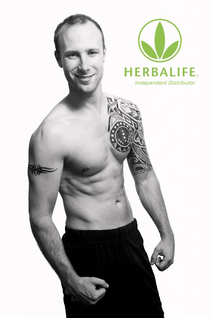 Herbalife portrait photography by Bristol Photographer Benjamin Robert Muir, for use to promote business on social media such as Facebook