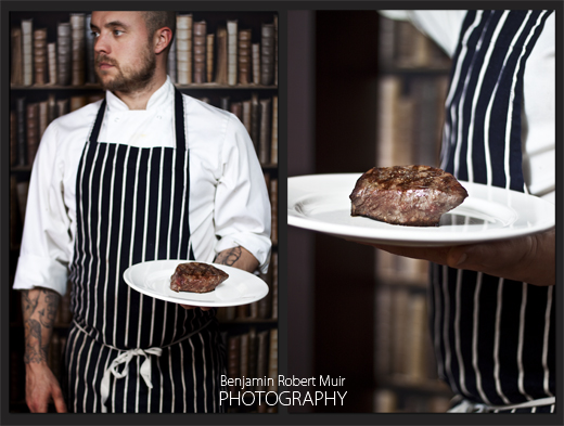 Bristol Food. Top Chef. Photography by Bristol Photographer Benjamin Robert Muir