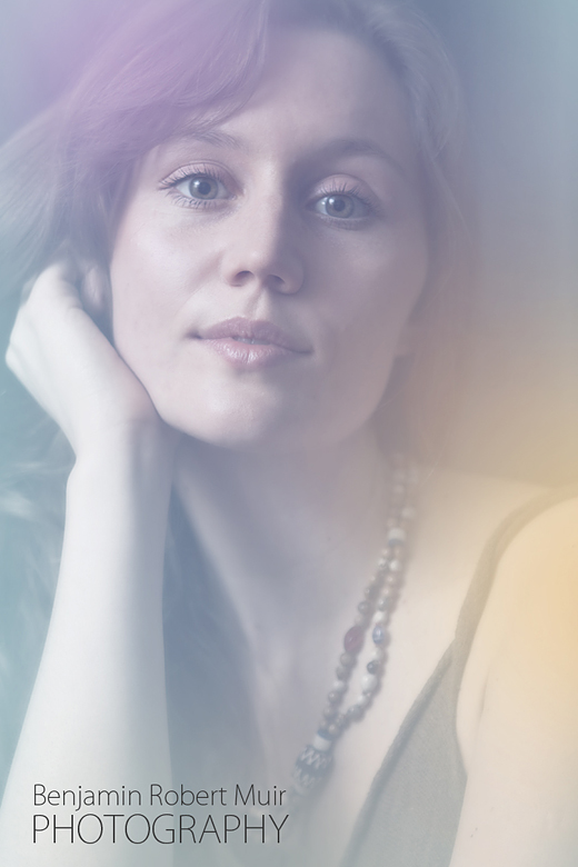Beautiful portrait photo of musician Katy Hooper. Photo was shot in our Bristol Photography Studio