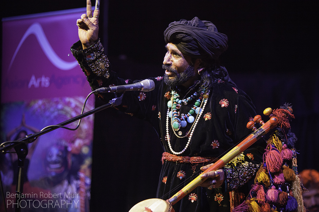 Live Music Photographer Bristol photographing Sain Zahoor at the Colston Hall for Asian Arts Agency