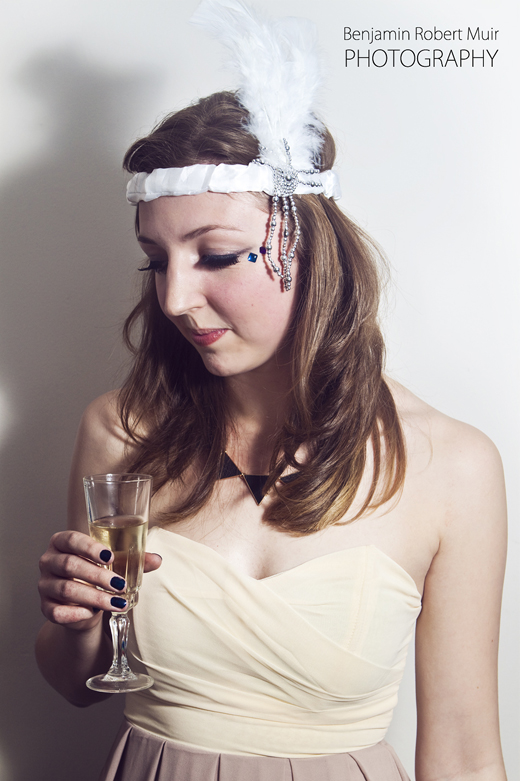 Beautiful Photo of a Liana. Photo Booth from New Years Eve Party in Bristol