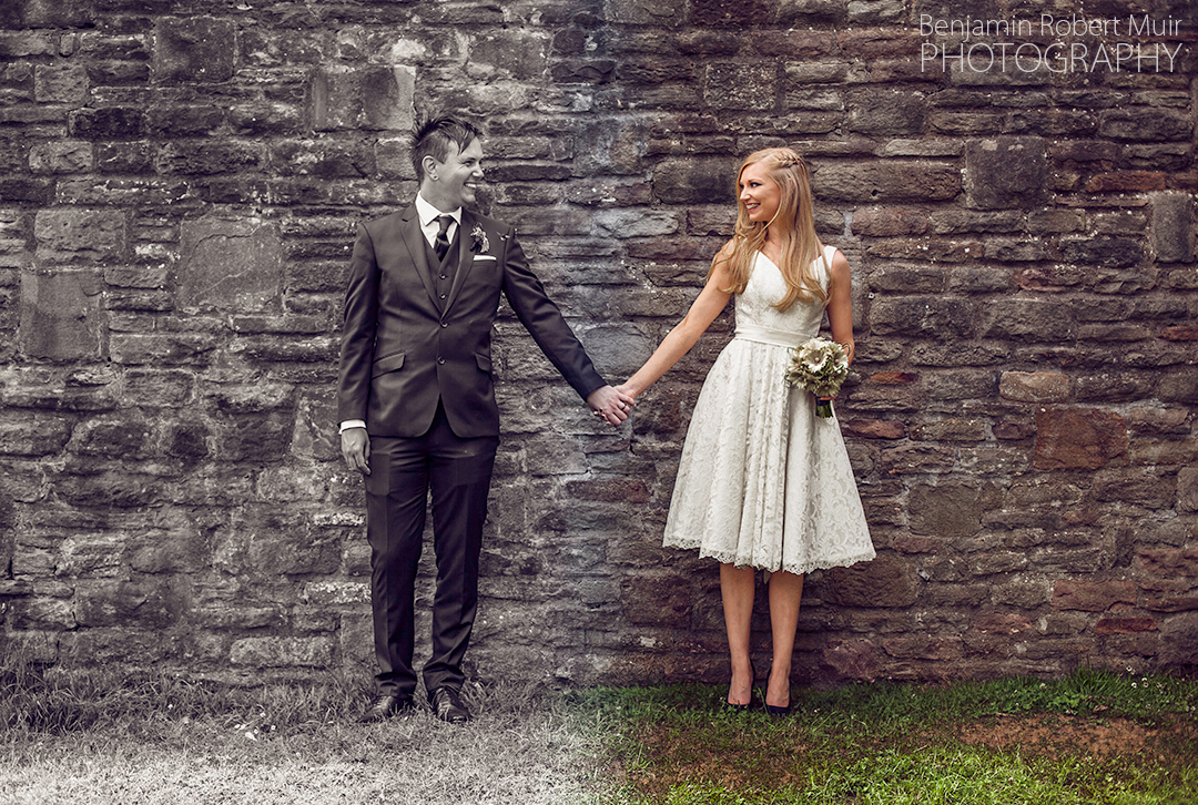 Wedding Photography Editing, choosing between black and white or colour